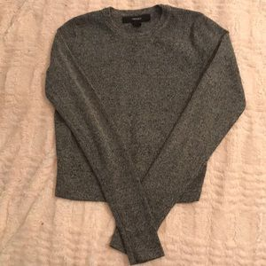 Gray thick sweater, long sleeve. Size small.